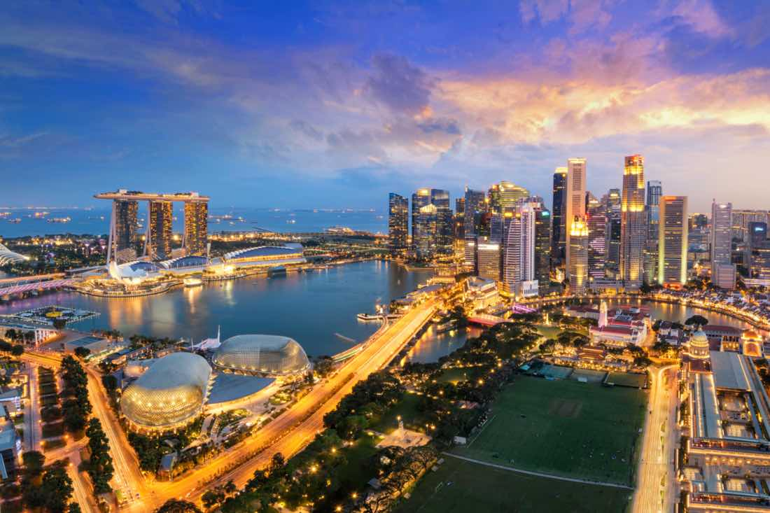 own property in Singapore